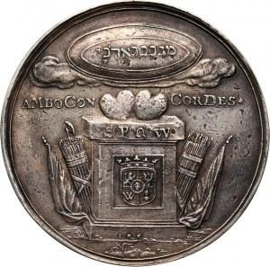 Śląsk, Wrocław, medal z 1700 roku