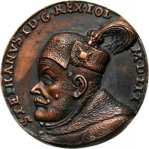 Stefan Batory 1533-1586, jednostronny odlew medalu
