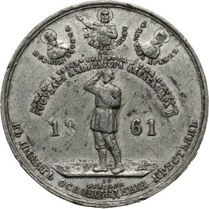 Russia, Alexander II, medal 1861, In Memory of the Liberation of the Peasants