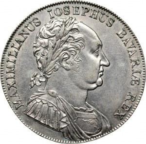 Germany, Bavaria, Maximilian I Joseph, Thaler 1818, Munich, Granting of the new Constitution