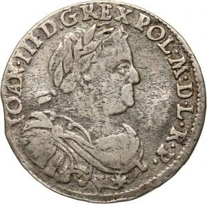 Jan III Sobieski, ort 1677 SB, Bydgoszcz