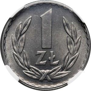 PRL, 1 złoty 1967