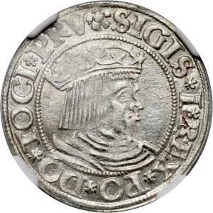 Zygmunt I Stary, grosz 1531, Gdańsk