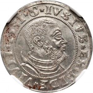 Prusy Książęce, Albert Hohenzollern, grosz 1531, Królewiec