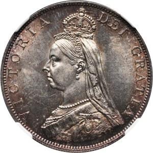 Great Britain, Victoria, 2 Florins 1887, London