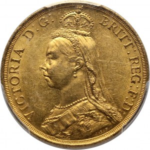 Great Britain, Victoria, 2 Pounds 1887, London