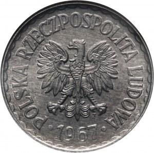 PRL, 1 złoty, 1967