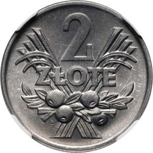 PRL, 2 złote 1960, Jagody