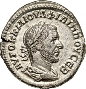 Roman Empire, Philip the Arab 244-249, Billon Tetradrachm, Antioch