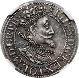 Zygmunt III Waza, ort 1614, Gdańsk