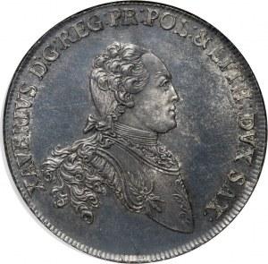 Ksawery (jako administrator), talar 1765 EDC, Drezno