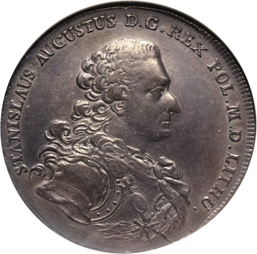 Stanisław August Poniatowski, talar 1766 FS, Warszawa