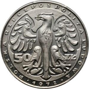 PRL, 50 złotych 1972, Fryderyk Chopin, próba bez napisu