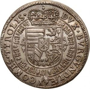 Austria, Archduke Ferdinand Karl, 1/4 Thaler 1654, Hall