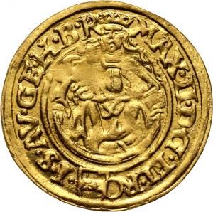 Węgry, Maksymilian II, dukat 1575 KB, Kremnica