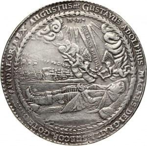 Pomorze pod okupacją szwedzką, Gustaw II Adolf, 4 talary 1633, Wolgast
