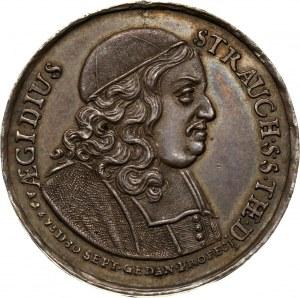 Jan III Sobieski, Gdańsk, Aegidius Strauch, medal z 1678 roku