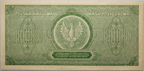 II RP, 1.000.000 marek polskich 30.08.1923, seria E