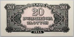 PRL, 20 złotych 1944