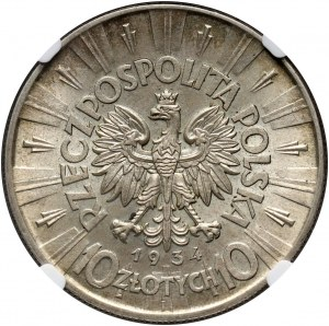 II RP, 10 złotych 1934, Warszawa, Józef Piłsudski