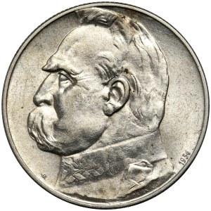 II RP, 5 złotych 1934 S, Warszawa, Józef Piłsudski - Orzeł Strzelecki