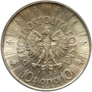II RP, 10 złotych 1935, Warszawa, Józef Piłsudski