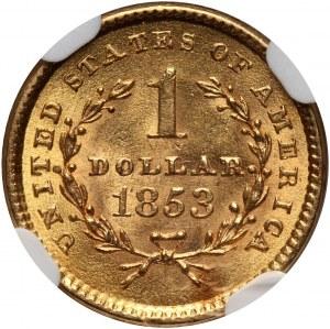 USA, Dollar 1853, Philadelphia
