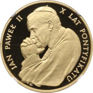 PRL, 10000 złotych 1988, Jan Paweł II, 10-lecie pontyfikatu