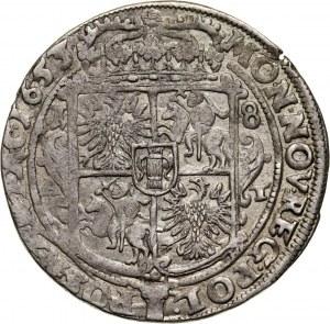 Jan II Kazimierz, ort 1653 AT, Poznań