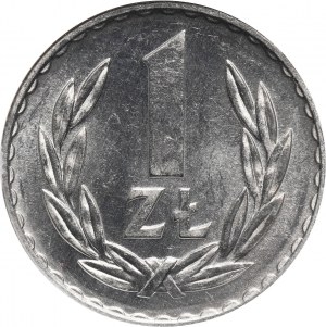 PRL, 1 złoty 1974