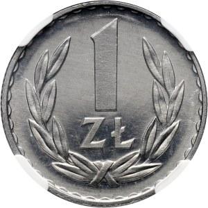 PRL, 1 złoty 1974, PROOFLIKE
