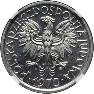 PRL, 2 złote 1970, Jagody, PROOFLIKE