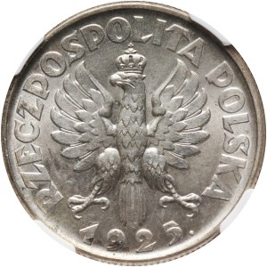 II RP, 2 złote 1925, Londyn, Żniwiarka