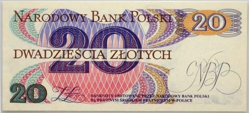 PRL, 20 złotych 1.06.1982, seria AP