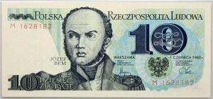 PRL, 10 złotych 1.06.1982, seria M