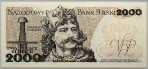 PRL, 2000 złotych 1.06.1979, seria AK