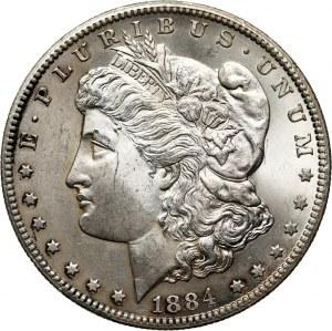 USA, Dollar 1884 CC, Carson City, Morgan