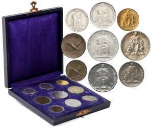 Watykan, Pius XII, zestaw monet z 1942 roku