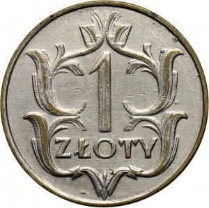 II RP, 1 złoty 1929, fałszerstwo z epoki