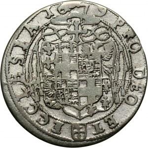 Śląsk, Księstwo nyskie biskupów wrocławskich, Fryderyk Heski, 6 krajcarów 1679, Nysa
