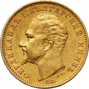 Bulgaria, Ferdinand I, 20 Leva 1894