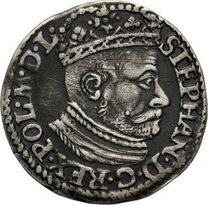 Stefan Batory, trojak 1582, Olkusz