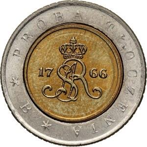 III RP, 5 złotych 1994, Warszawa, Próba tłoczenia