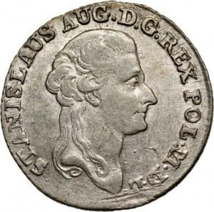 Stanisław August Poniatowski, złotówka 1788 EB, Warszawa