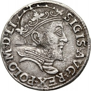 Zygmunt II August, trojak 1546, Wilno