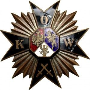 II RP, Gwiazda Związku Obrońców Kresów Wschodnich, numerowana