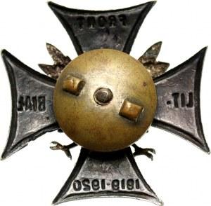 II RP, odznaka, Front Litewsko - Białoruski