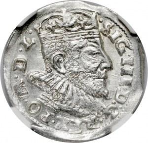 Zygmunt III Waza, trojak 1593, Wilno