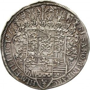 Germany, Saxony, Johann Georg I, Thaler 1651, Dresden