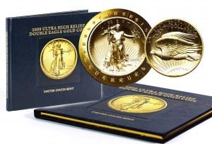 Stany Zjednoczone Ameryki, 20 dolarów 2009, Ultra High Relief